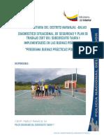 DIAGNOSTICO, Situacional y de Seguridad, PLAN TRABAJO POLCO y Cronograma 2016(1)