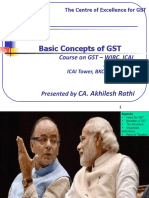 Basic Concepts of GST CA Akhilesh Rathi