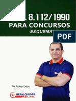 LEI 8112_90 grancursos esquematizada.pdf