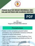 Peran Ibi Dalam Deteksi Dini Kanker Serviks (Dompet Dhuafa)