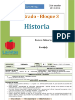 Plan 6to Grado - Bloque 3 Historia (2015-2016).doc