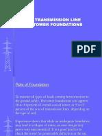 Transmission Line Foundations