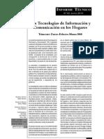 Las Tecnologías de Información y Comunicación en los Hogares