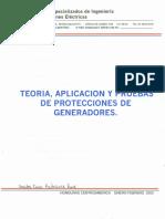 Teoria Aplicacion y Pruebas de Protecciones de Generadores