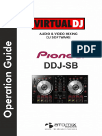 Pioneer DDJ-SB VirtualDJ 8 Operation Guide