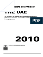 The Multinational Companies in UAE 2010