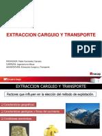1 Clase Extraccion Carguio y Transporte 2