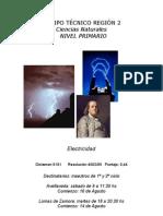 afiche curso electricidad