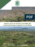 Aportes Al Conocimiento Del Ecosistema Bosque Tropical Seco de Piura