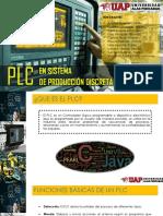 PLC EN SISTEMA DE PRODUCCIÓN DISCRETO
