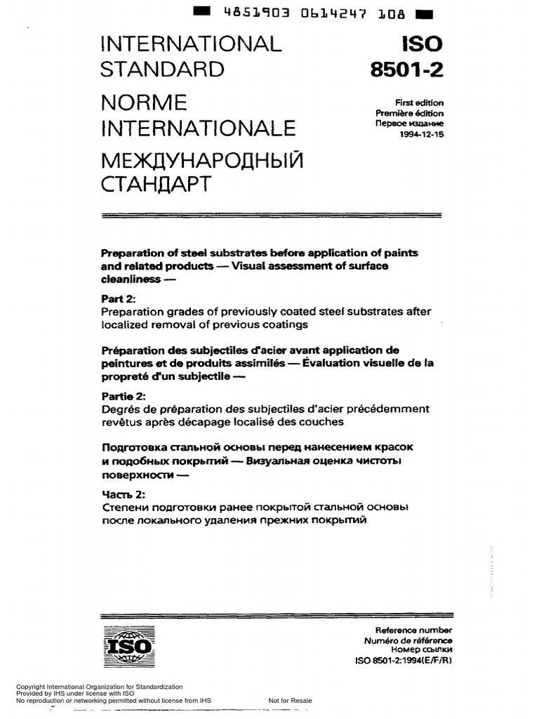 ISO-8501-2.pdf | Corrosion | Paint