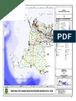 Peta Rencana Struktur Ruang RTRW Provinsi Banten 2010-2030