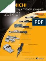 Tohnichi Katalog 2014