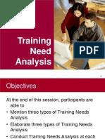 Training Need Analysis - English