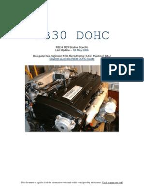 Nissan rb30-dohc | Vehicles | Automotive Technologies