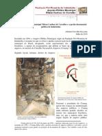 O Arquivo Público Municipal Nilson Cardoso de Carvalho (SPAI) e a gestão documental pública de Indaiatuba