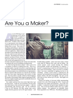 Are you a maker
