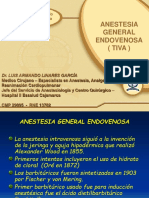 Anestesia General Endovenosa