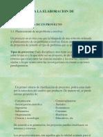 Métodos Para La Elaboración de Proyectos.