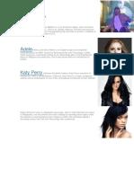 Ten Famous Pop Singers