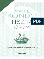 Marie Kondo-Tiszta Öröm