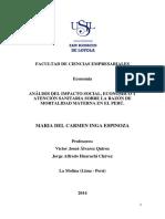 0015.- Inga Espinoza, Maria Del Carmen - Analisis Del Impacto Social, Economico y Atencion Sanitaria Sobre La Razon de Mortalidad Materna en El Peru