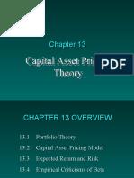 Capm Theory (Rohit)