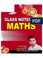 Rakesh Yadav Sir Class Notes