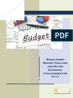 Budget Analysis FY17