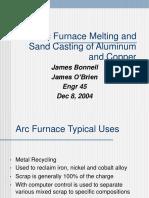 Arc Furnace Casting