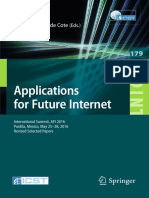 Applications for Future Internet