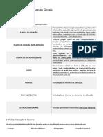 Resumo Esquematizado Norma Arquitetura Engenharia | Representação – Aspectos Gerais