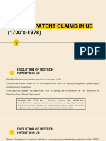 Biotech Patents in US - Final Addition