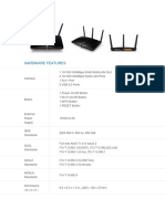 First Router Hardware Features
