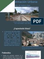 Fragmentación Urbana Pedro de Valdivia Bajo