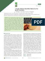 Clay Nanopaper With Tough Cellulose Nanofiber