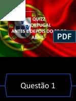 Portugal Antes e Depois