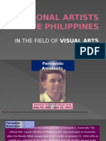 16 National Artist in the Field of Visual Arts
