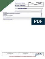 Especificacion Tecnica Codificacion de Procesos