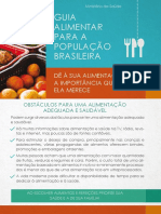 Folder Obstaculos Alimentacao