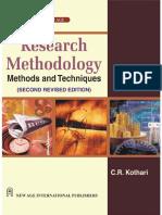 C R KOTHARI Research Methodology