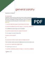 Cultura General Zarahy
