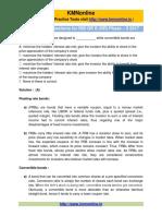 Sample Test Finance and Management (Solution)