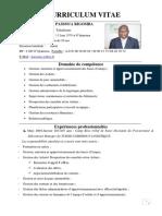 Curriculum Vitae Passoua Rigomba