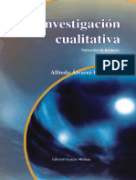 Alvarez (2007) Investigación Cualitativa