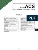 Acs-Auto Cruise Control System