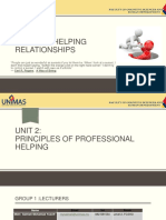 Unit 2 - Principles of Professional Helping Jul 2016