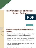 The Cоmроnеntѕ Оf Modular Kіtсhеn Designs