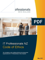 ITP Code of Ethics