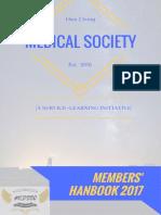 MedSoc Members Handbook 2017